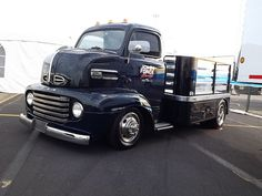 1948-1950 Ford COE - John Force Racing, is this cool or what?
