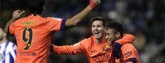 Messi se desmelena en Riazor