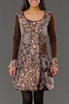 Robe Cécilia Savage Culture - Robes courtes - Robes - Femme - Tealuna
