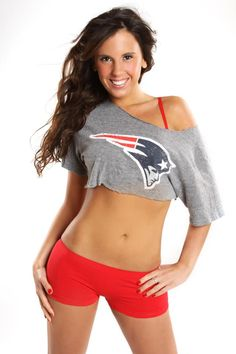 New England Patriots...I'd love this for a pole fitness workout outfit