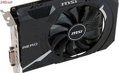 MSI apresenta a linha Aero ITX com versões Mini-ITX da GTX 1070, 1060 e 1050 Ti