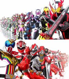 Kamen Rider Kabuto, Kamen Rider Zi O, Kamen Rider Series, Original Power Rangers, Power Rangers Series, Best Crossover, Hero Time, 50th Anniversary, A Team