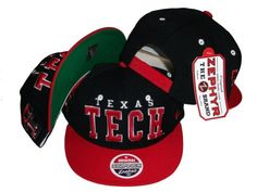 Texas Tech Red Raiders Snapback Hat