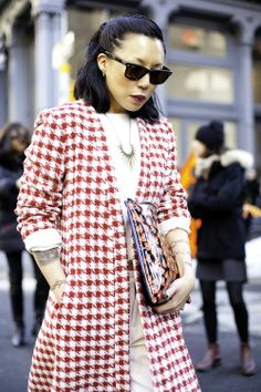 Photo by Ally Lindsay. #NYFW #StreetStyle