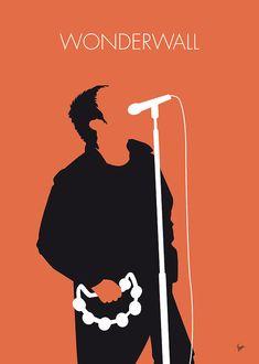 MY Oasis Minimal Music poster Art Print Rock Posters, Band Posters, Movie Posters, Poster Wall, Poster Prints, Art Print, Minimalist Music, Minimalist Poster, Historia Do Rock