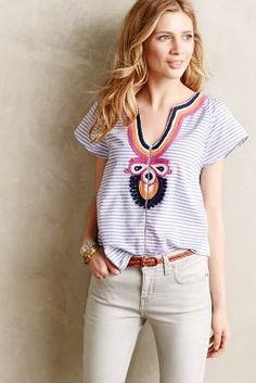 Whit Two Nairn Top #anthrofave #anthropologie