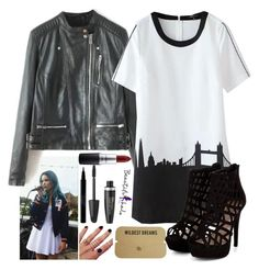 """""""Party with Halsey"""" by crazydirectionergirl ❤ liked on Polyvore featuring Melanie Auld, Max Factor, Sisley, MAC Cosmetics, women's clothing, women, female, woman, misses and juniors"""