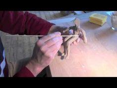 Keramik Synchronschwimmerin - YouTube