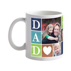 <3 Dad Mug  #FathersDay  Treat.com