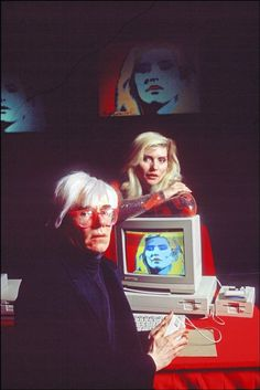 art ho inspiration tbh | Andy Warhol, Debbie Harry