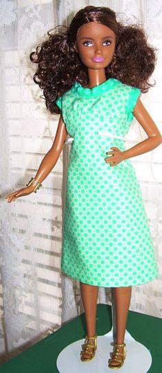 Petite Barbie A-Line Short Dress by AuntieLousCrafts on Etsy