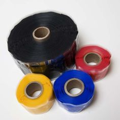 Rescue Tape: can wrap around wet or dirty surfaces to seal them. the tape is silicone rubber and is amazing for water leaks, etc. Silicone Tape, Silicone Rubber, Rv Camping Tips, Packing, Household Tips, Tiny House, Seal, Amazing, Water