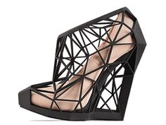 Andreia Chaves Naked Shoe in Black Nude at Solestruck.com