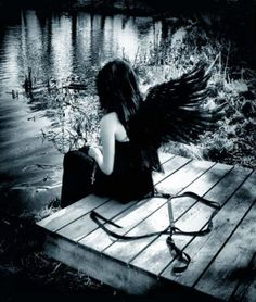 dark photography | Christian Art | Angels: Dark Angel