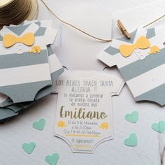 25 Ideas para decorar un Baby Shower de varón - Everythink for Babyshower Idee Baby Shower, Shower Bebe, Baby Boy Shower, Invitacion Baby Shower Originales, Invitaciones Baby Shower Niña, Baby Showers, Baby Shower Parties, Baby Shower Themes, Gender Reveal Invitations
