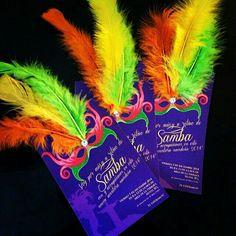 Invitación temática de Carnaval