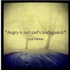 Anger is never a primary emotion. Anger is a secondary response to something deeper or closer than ourselves. Sad Quotes, Great Quotes, Life Quotes, Inspirational Quotes, Quotable Quotes, Badass Quotes, Deep Quotes, Super Quotes, Awesome Quotes