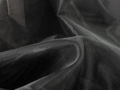 Crushed Pleather Fabric Black 150cm