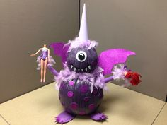 One eyed, one horned, flying, purple people eater!