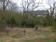 abandoned farm house, maury county, tennessee