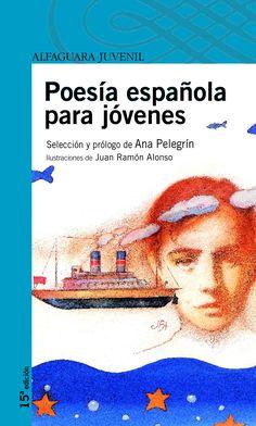 Poesia española para jovenes. Es la lectura obligatoria castellana del segon trimestre i tracta basicament de  poemas español per a joves.