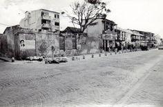 [A través del tiempo]      Fotografía tomadas a finales de 1980 en la Avenida del Arsenal    Fototeca histórica