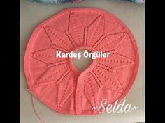 Bebek_örgüleri (K uler) Tunisian Crochet, Learn To Crochet, Crochet Patterns For Beginners, Baby Knitting Patterns, Diy Collier, Diy Crafts Crochet, Crochet Baby Cardigan, Diy Crystals, Crochet Videos