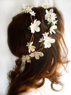 10 diferentes formas de coroa de flores, noiva, coroa de flores, flores…