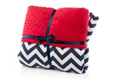 Shop for on Etsy, the place to express your creativity through the buying and selling of handmade and vintage goods. Baby Boy Crib Bedding, Baby Boy Cribs, Navy Chevron, Crib Blanket, Tummy Time, Nautical, Two By Two, Cotton Fabric, Cushion