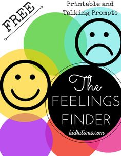 FREE Feelings Finder: Helping Kids and Teens Cope with Emotions. A printable activity for use at home, the classroom or therapy. #socialworker #therapist #schoolcounselor