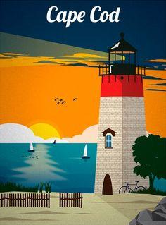 Cartoline dal mondo: Cape Cod
