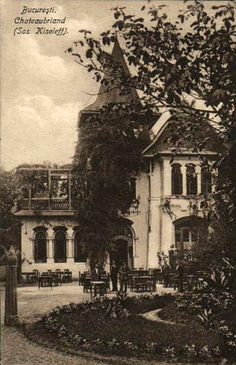 Bucuresti - Chateaubriand Restaurant pe Kiseleff - 1925 Old Pictures, Old Photos, Capital Of Romania, Little Paris, Bucharest Romania, Old City, Photo Archive, Homeland, Time Travel