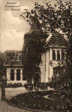 Bucuresti - Chateaubriand Restaurant pe Kiseleff - 1925