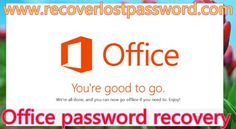 Do you know how to recover Microsoft Office password when you lost it? You can use SmartKey Office Password Recovery.