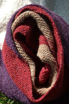 La sciarpa a legaccio diagonale