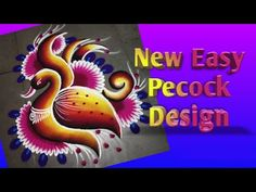 New Beautiful Design of Pecock - YouTube