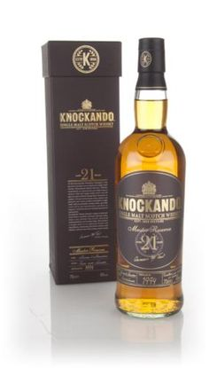 The 1994 vintage 21 year old Master Reserve expression from the wonderful Knockando distillery which lies near the River Spey.