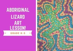 Learn how to teach your students how to create an aboriginal inspired artwork today!