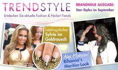 #trendstyle #september #fashion #mode  Entdecke aktuelle Fashion & Nailart Trends mit unserer neuen Trendstyle Seite! In der neuen Trendstyle Rubrik informieren wir Dich über neue Trends und angesagte Looks für Dein Nageldesign. Informiere Dich regelmäßig über die Lieblingsfarbe des Monats, aktuelle Fashion & Nail Trends, den angesagtesten Star-Style und trendy Fundstücken. Wir wünschen Dir viel Spaß beim Stöbern. http://www.prettynailshop24.de/shop/trendstyle/trendstyle.html