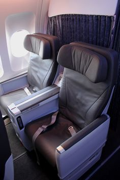 The way to travel!  Club Class- Air Transat