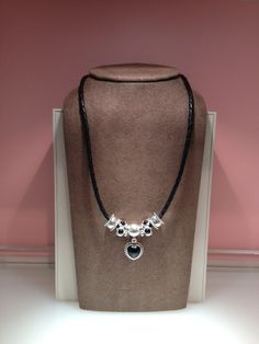 Mi Amor takes center stage in this design by Jennifer at our PANDORA Rosedale Center location.  www.PandoraMOA.com