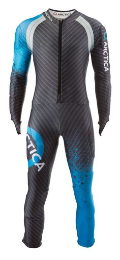 Arctica Cup GS Speed Suit Blue. High quality. Good looking. FIS approved. $300 adult/$250 youth.