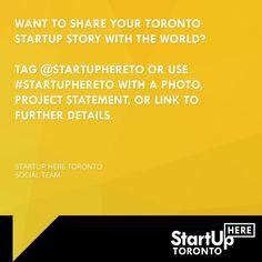 #startuphereTO #Toronto