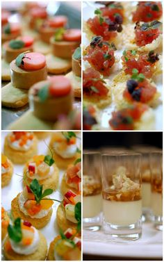 Canapes - after the ceremony and before the ceremony? During photos?
