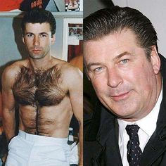Alec Baldwin-Celebs who got fat Celebrity Bodies, Celebrity News, Celebrities Then And Now, Kim Basinger, Burn Belly Fat Fast, Stars Then And Now, Famous Stars, Weight Loss Before, Fast Metabolism