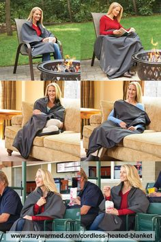Cordless Battery Operated Heated Blanket