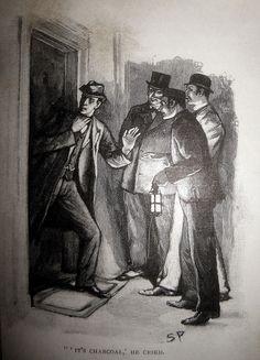 Sherlock Holmes and John Watson - Sidney Paget Book Illustration 6156 by Brechtbug, via Flickr