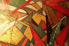 ziat terre chaux platre Gomme Laque, Faux Painting, Decoration, Creations, Bling, Whitewash, Arm Cast, Fresco, How To Paint