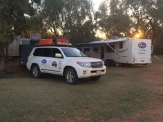 Bailey of Bristol on Twitter: Day 10: a short drive today of 230 kms on good roads from Tobermory to the relative comfort of Boulia Campsite