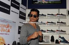 Sonu Sood during the launch of #Skechersshoes